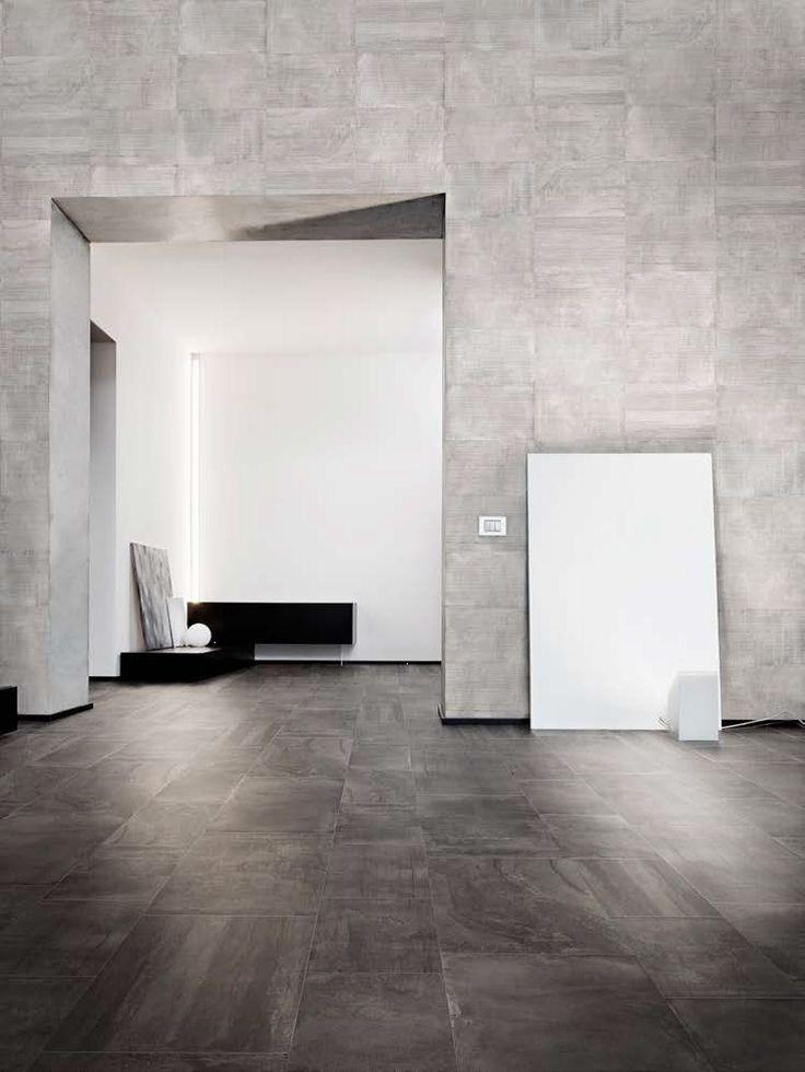Studio Marmi Concrete Charcoal Weathered 18x36 And 12x24