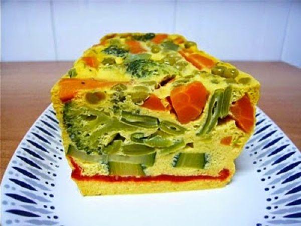 Receta Pastel de verduras (microondas), para Willyviajera - Petitchef