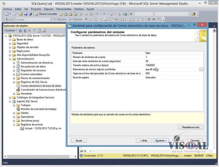 SQL Server Agent El Agente SQL Server es un servicio de Microsoft Windows que ejecuta tareas administrativas programadas, denominadas trabajos en SQL Server 2014, estos trabajos pueden realizar tareas como backups, reorganización de indices entre otras tareas de mantenimiento - SQL Server -