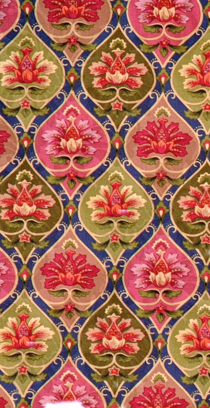 Coquita damask. Bright colors, gorgeous pattern.