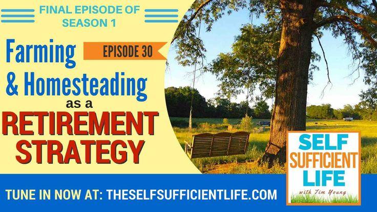 Season 1: Episode 30: Farming/Homesteading as a Retirement Strategy Homesteading Far...