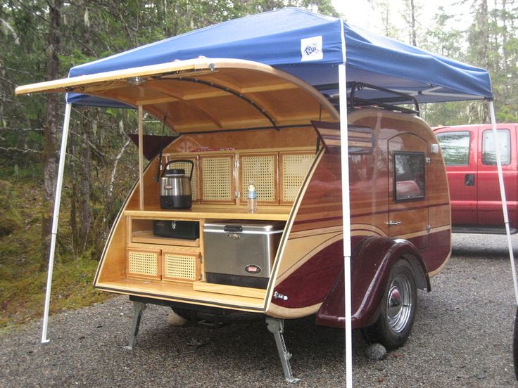 I have the pop up tent cover now I just need the teardrop trailer to. 123 best Teardrop images on Pinterest   Campers  Camp trailers and