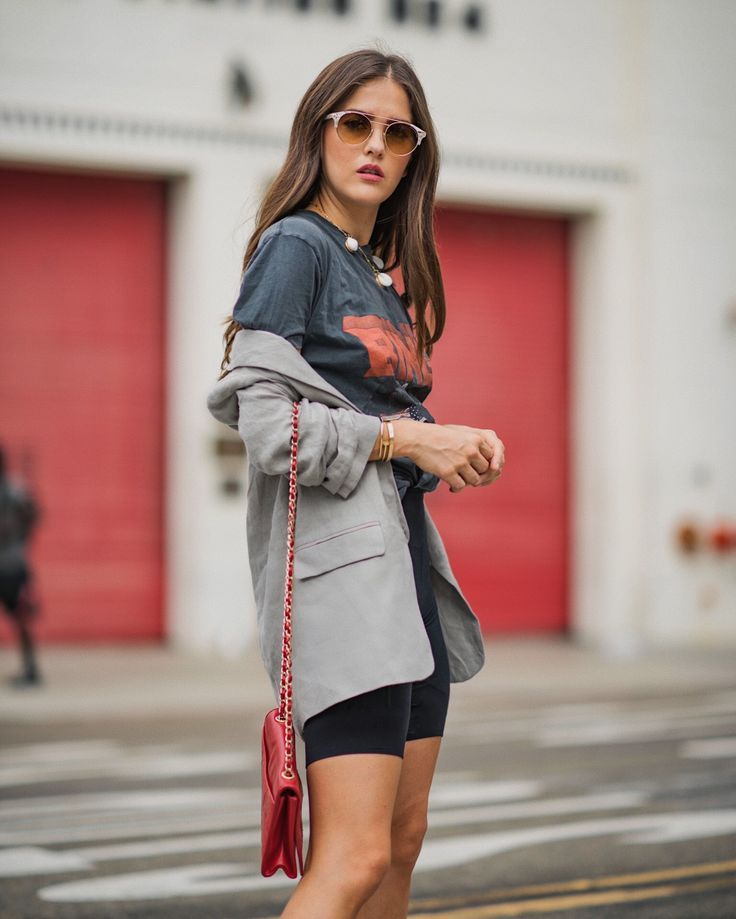 Trend | Biker Shorts | Summer outfit | spring style | street fashion | fall styl…   – Biker Shorts