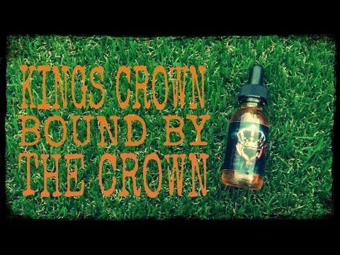 KINGS CROWN ELIQUID - BOUND BY THE CROWN - YouTube http://www.vapeclub.co.uk/kings-crown-eliquid/bound-by-the-crown-eliquid-by-kings-crown.html