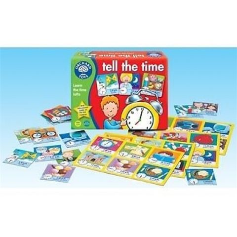 Tell the Time Lotto Clock Game by Orchard Toys - Available at Kids Mega Mart Online Shop Australia