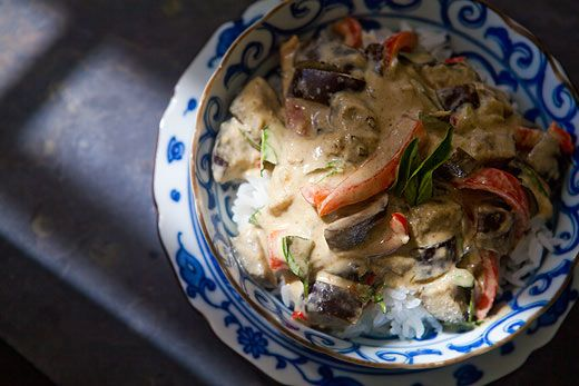 Eggplant Green Curry | Recipe