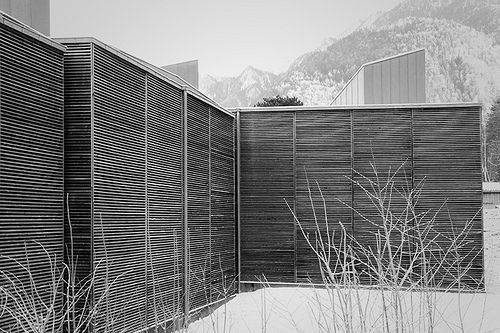Shelter for Roman Ruins, Chur, by Peter Zumthor