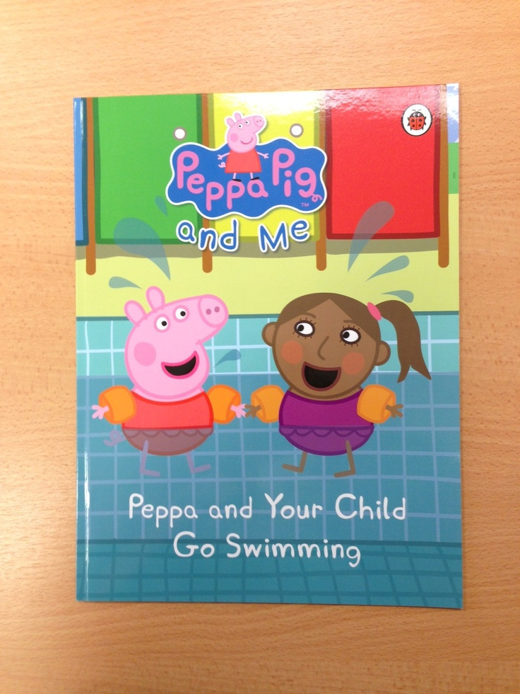 Personalised Peppa Pig Peppa and Your Child Go Swimming #personalisedbooks