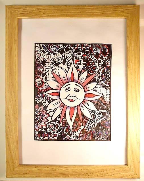 Colored Sun