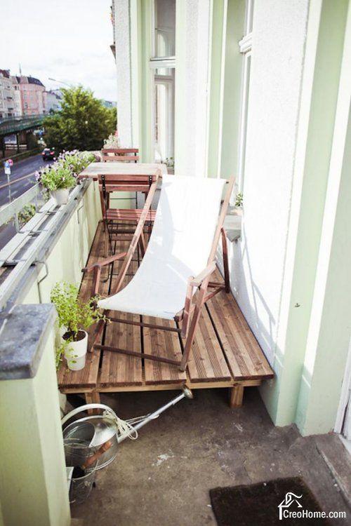 Обычные балконы