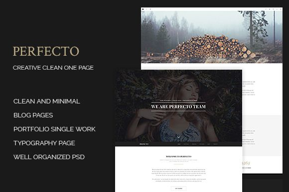 Check out Perfecto - Creative Minimal Onepage by Romaximus on Creative Market  Full size  1) Home page https://redpen.io/sx6ec5553f67a598a6  2) Blog https://redpen.io/rm4c1e8b01a4929dca  3) Blog single post https://redpen.io/eo2bbfa2d34a7fef01  4) Single work https://redpen.io/aoba23a04a83ce3835  5) typography page https://redpen.io/hadda2901e413f2297  you can buy this template here http://goo.gl/AK9wBu