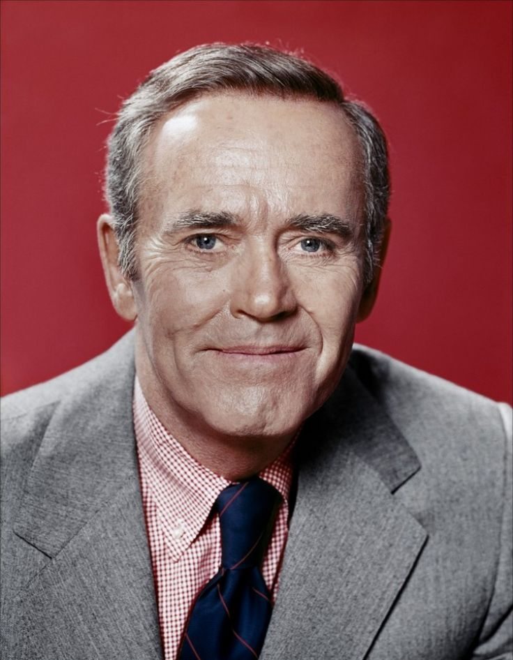 """Henry Fonda -- (5/16/1905-8/12/1982). Broadway/Stage & Film Actor. Movies -- """"Yours, Mine and Ours"""" as Frank Beardsley, """"The Trail of the Lonesome Pine"""" as Dave Tolliver and """"On Golden Pond"""" as Norman Thayer Jr. He died from Heart Disease at his home, age 77."""
