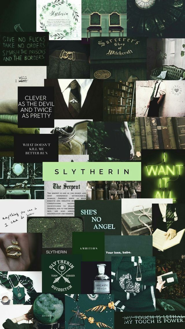 Pin By Sweetieminmin On For Ppt Slytherin Wallpaper Harry