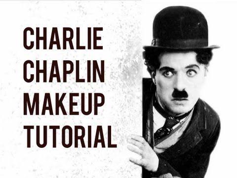 Charlie Chaplin Makeup Tutorial