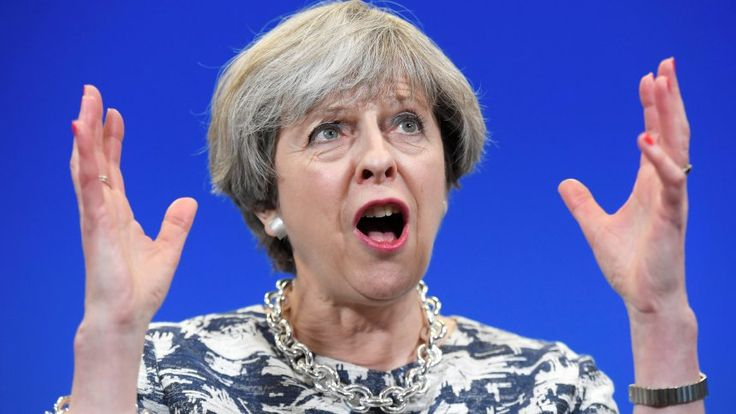 A Wave of Anger Crashes over Britain  Europe used to have a fearful respect of the Tories. But those days have long since passed. Now, the weakened party may have accidentally killed off Brexit -- a pet project that most party leaders didn't want in the first place.  British Prime Minister Theresa May