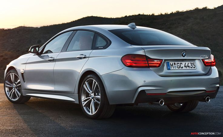 BMW 4 Series Gran Coupe, one of the prettiest designs on the road today.