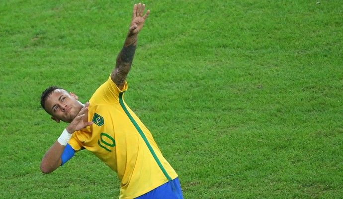 Neymar raio Bolt (Foto:  REUTERS/Murad Sezer )