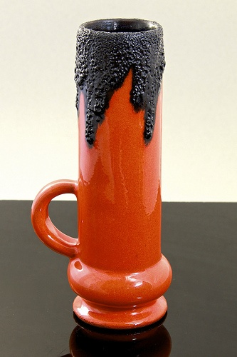Roth Keramik 'Fat Lava' vase, West Germany, circa 1970's