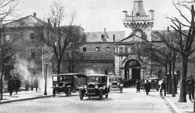 1931. Plaza de la Moncloa. La Cárcel Modelo | Flickr: Intercambio de fotos