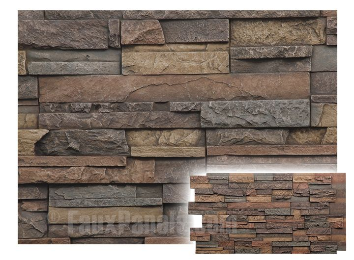 faux rock panels cheap stone exterior wall interior