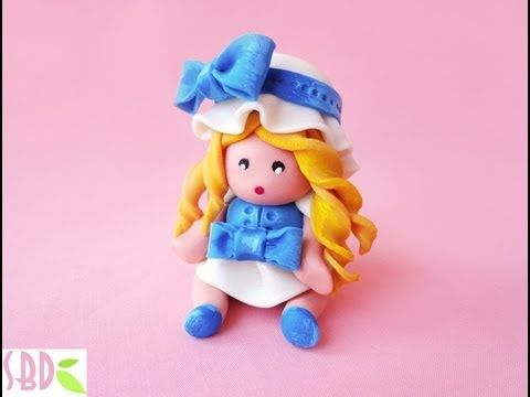 Modellaggio: Bambolina in pasta di mais - Modeling: maize dough Dolly - YouTube