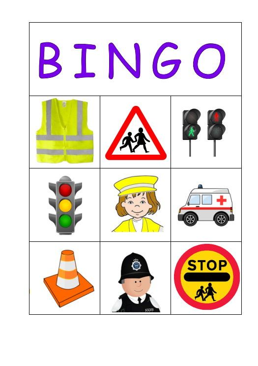 Road Safety Bingo email blagdonrainbows@hotmail.com for the details