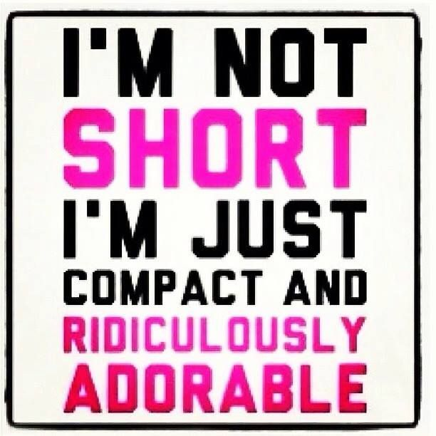 17 Best images about i'm not short... on Pinterest | Fun size, So ...