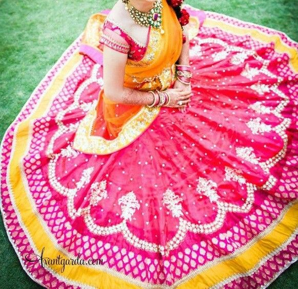Beautiful half saree