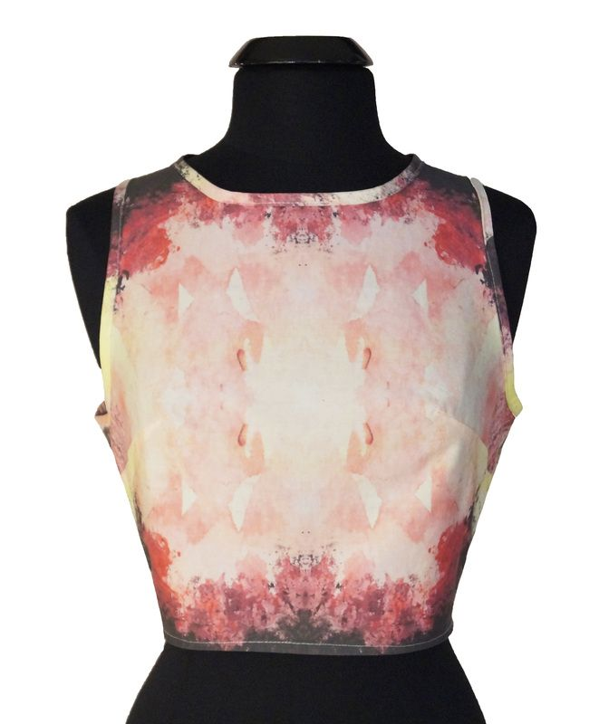 http://wildskydesign.com/  Top with Lava Print