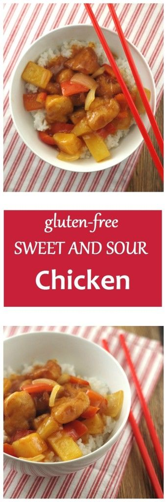 Satisfy your cravings with this amazing and healthy version of Gluten-Free Sweet and Sour Chicken by Gluten-Free Palate.