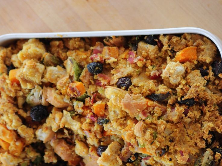Dressing with Brussels Sprouts and Butternut Squash Recipe : Ree Drummond : Food Network - FoodNetwork.com