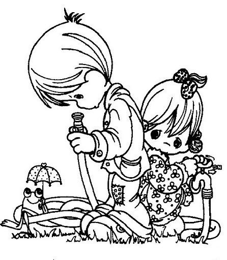 1197 best Precious Moments images on Pinterest Coloring books - new coloring pages girl games