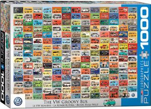 VW Cool Faces Puzzles at Eurographics
