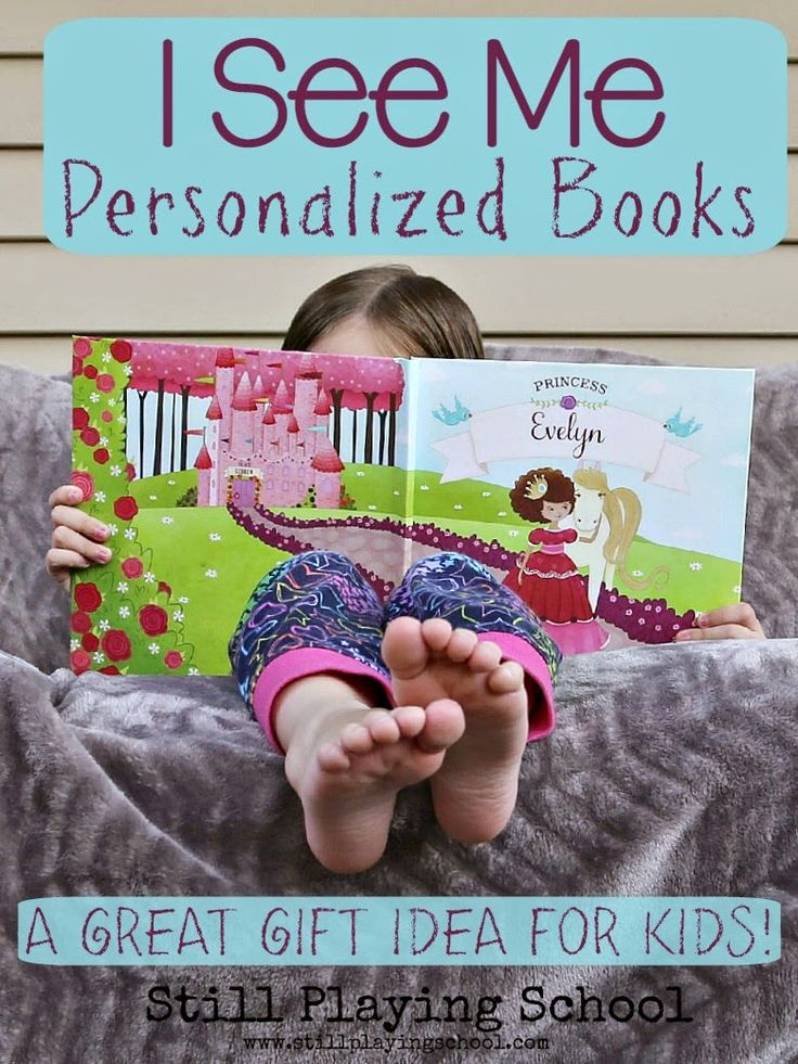 Personalized Books for Kids by I See Me! Books make the perfect customizable gift for kids! Review & Giveaway from Still Playing School