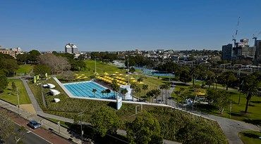 Prince Alfred Park & Pool, Sydney by Sue Barnsley Design