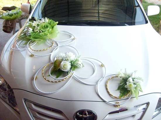 Modern Wedding Car Decoration wedding-rides