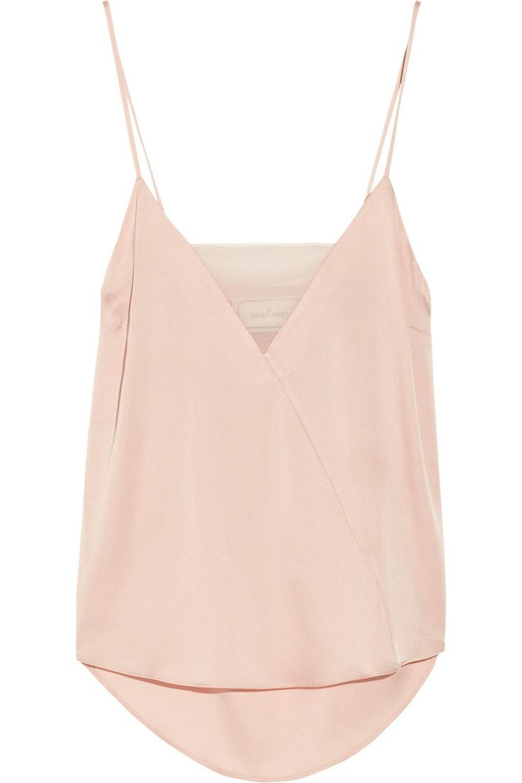 By Malene Birger | Niharika stretch-silk and georgette camisole