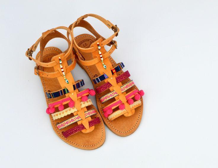 Para mi Handmade Sandals Summer '16