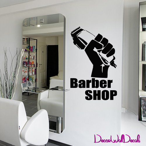 Best Barber ShopHair Salon Wall Decals And Stickers Images On - Custom vinyl wall decals for hair salonvinyl wall decal hair salon stylist hairdresser barber shop