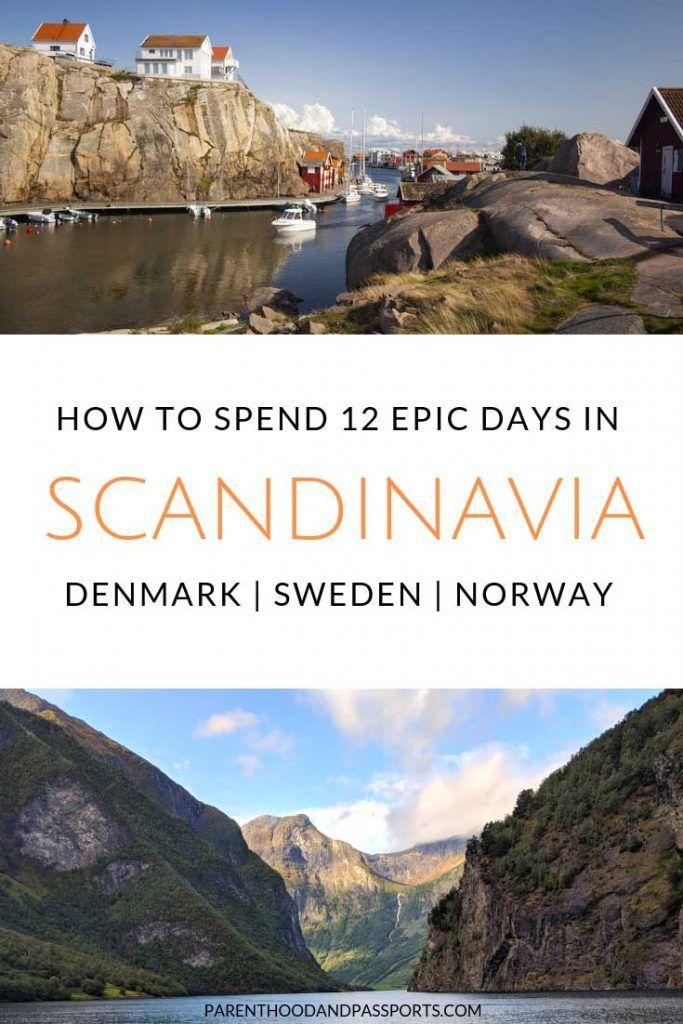The Ultimate Scandinavia Itinerary 12 Full Days 6 Fantastic Stops Europe Travel Scandinavia Travel Sweden Travel