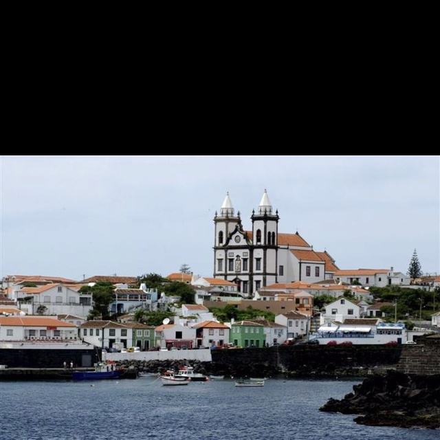 Terceira island in the Acores