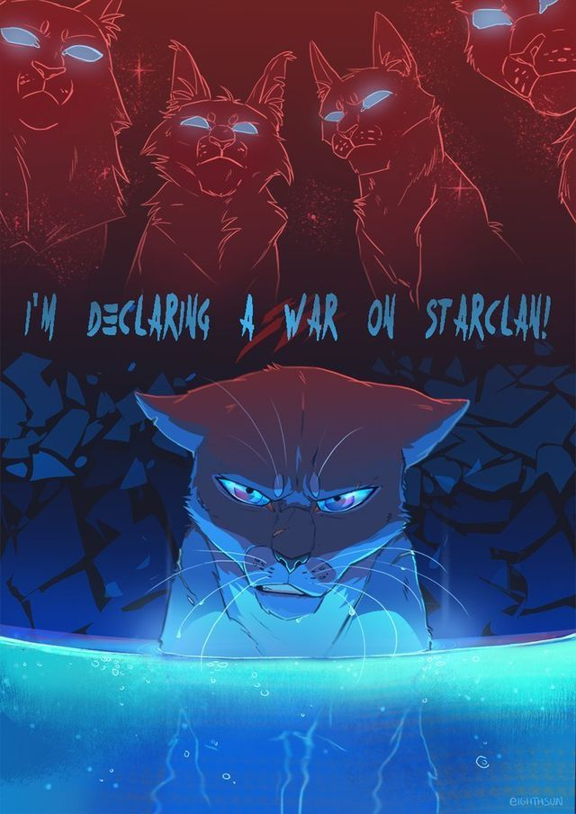 Bluestar's mistrust led to her paranoia that Starclan was against her