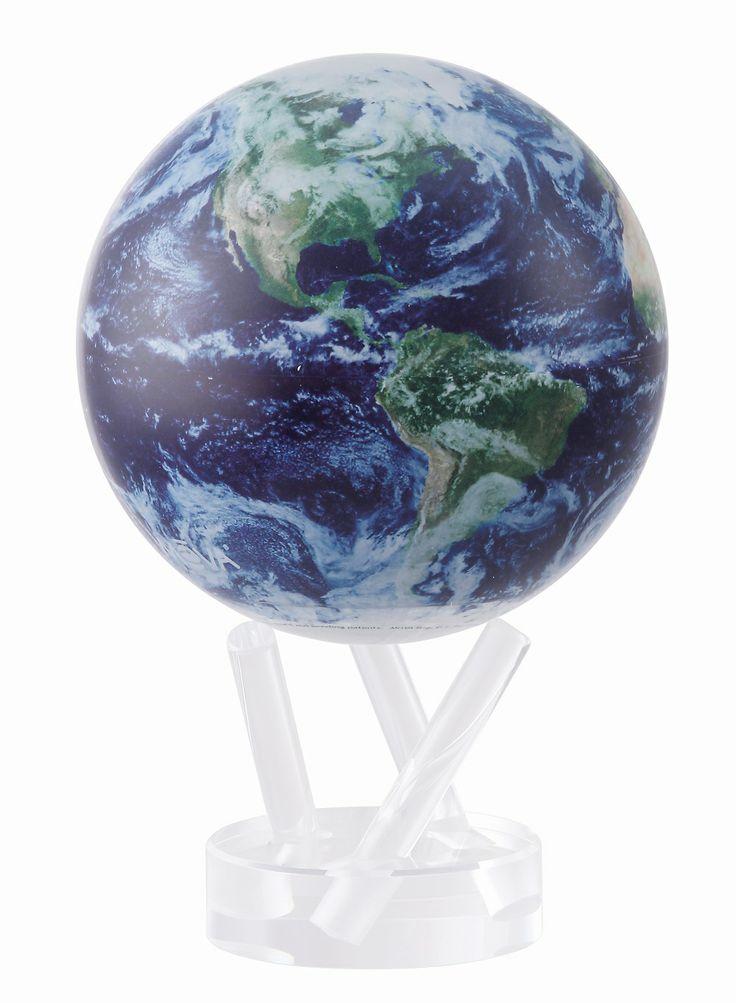 New Mova Globe Satellite with Clouds 15