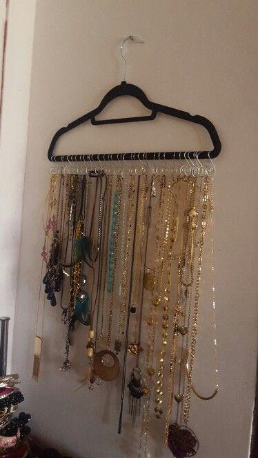 1000 ideas sobre colgar collares en pinterest - Colgador de collares ...