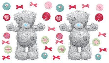 Stickers 'Tiny Tatty Bear Large' – FUNTOSEE