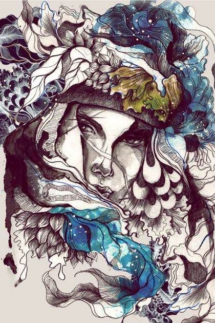 Personal Illustrations 2012 by Daryl Feril, via Behance