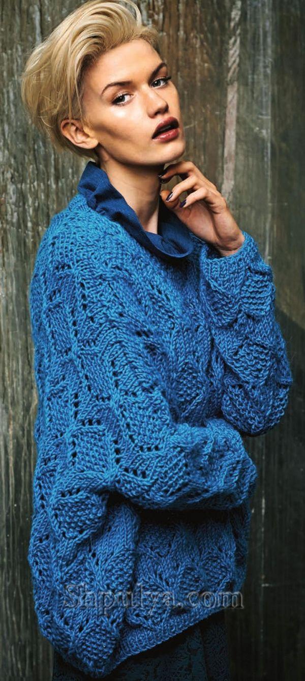 теплые свитера для мальчика схема