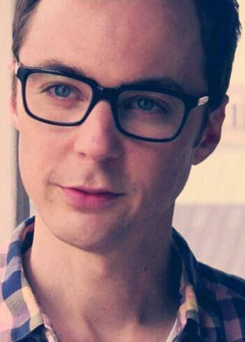 it's almost unsettling seeing Jim Parsons looking calm & normal !.