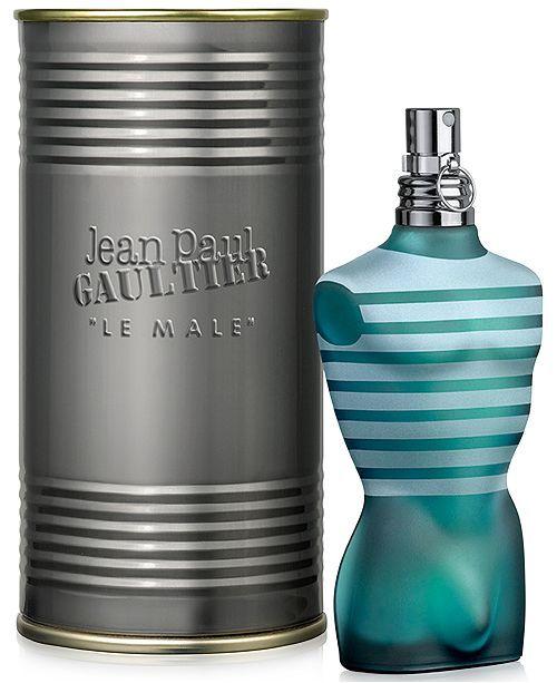 Jean Paul Gaultier Men Le Male Eau de Toilette Spray, 4.2 oz