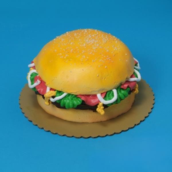 Buttercream Hamburger Cake